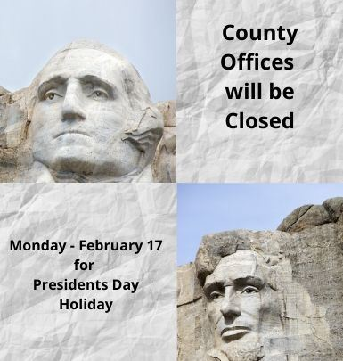 Presidents Day Holiday - February 17, 2020