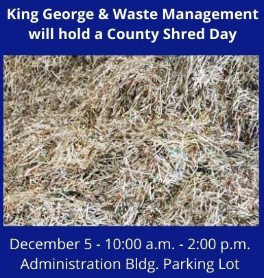 County Shred Day - December 5, 2020